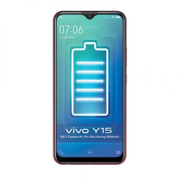 Điện thoại Vivo Y15 4Gb + 64Gb - Hàng Chính Hãng