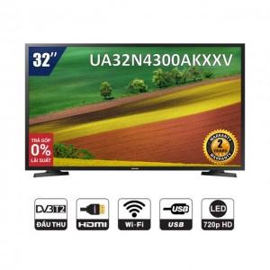 [Nhập SAMS500K Giảm 500K] Smart Tivi LED SAMSUNG 32 Inch UA32N4300AKXXV - Chính Hãng Phân Phối